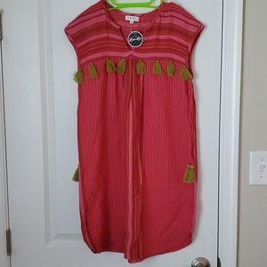 THML tassel dress Boho